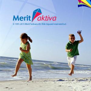 Скриншот стартовой страницы Merit Aktiva.