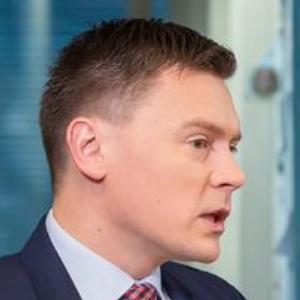Вице-канцлер Министерства финансов Дмитрий Егоров. Фрагмент скриншота с видеоинтервью.