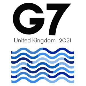 Страны G7. Эмблема саммита стран Большой семёрки, прошедшего в 2021 году в Лондоне. Фото: en.wikipedia.org.